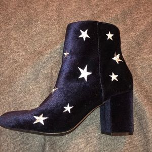 Just Fab Blue Star Shoes